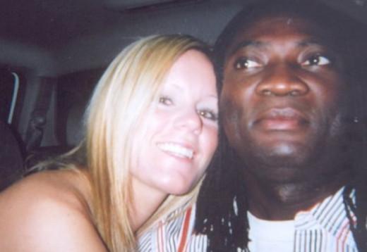 Jessie Foster and her boyfriend Peter Todd in Las Vegas, Nevada, where Jessie went missing in April 2006.