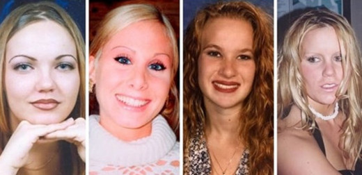 Jodie Brewer, Lindsay Harris, Misty Saens, and missing person Jessie Foster are thought to be victims of serial killer Neal Falls.