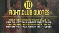 10 Fight Club Quotes That Perfectly Reflect Reality