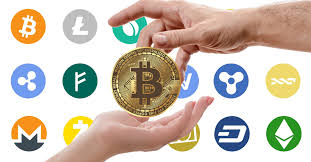 Various Cryptocurrency Logos