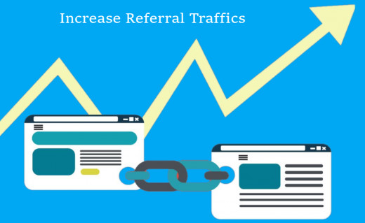 Increase Referral Traffics