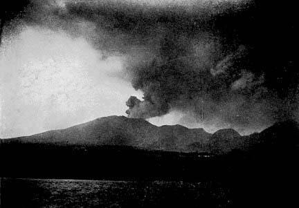 Erruption of Mount Pelee, Martinique, 1902