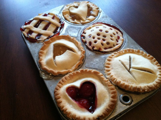 Homemade pies present great opportunities for incorporating sigils, symbols and other magical decoration.