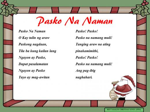 Pasko Na Naman Lyrics