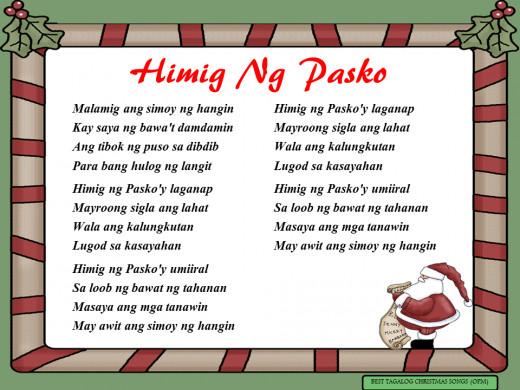 Himig Ng Pasko Lyrics
