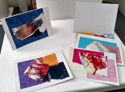 Watercolor Painting Cards: How to Use Discarded Paintings to Make Cards
