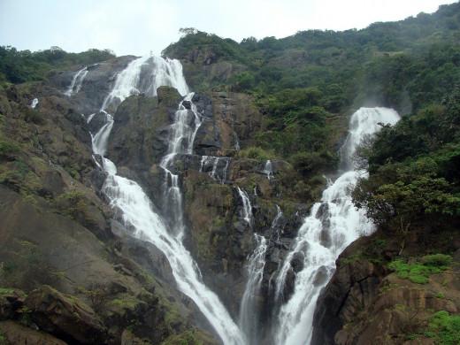 DudhSagar Waterfall near Goa