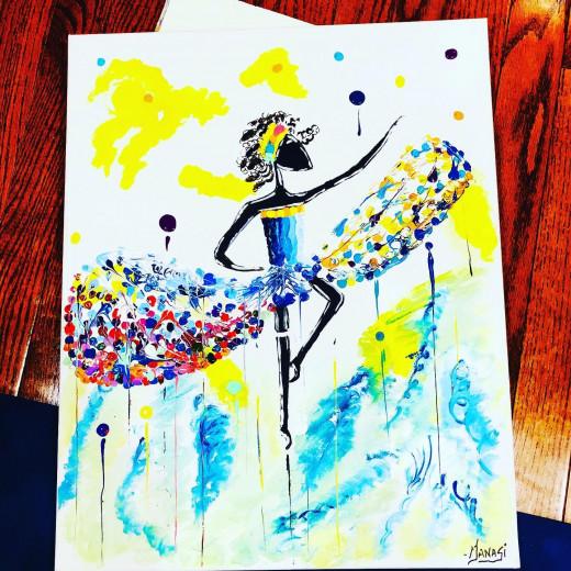 Beautiful Painting By Manasi