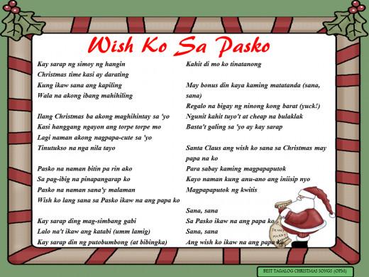 Wish Ko Sa Pasko Lyrics