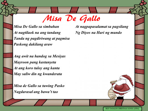 Misa De Gallo Lyrics