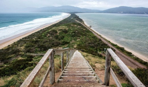 View of Bruny Island