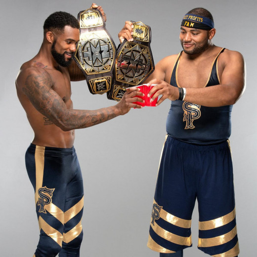 4. The Street Profits – Chill Dudes with chill music