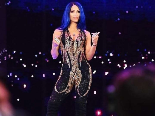 19. Sasha Banks – Be it her old theme or the new one both are equally dope. I am loving every bit of her theme song