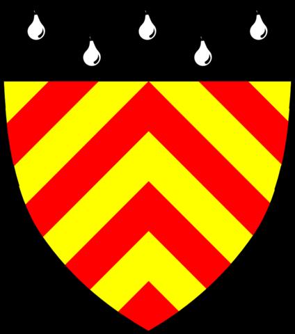 Shield of Clare Hall, Cambridge.