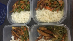 Weekly Dinner meal prep under $10!!