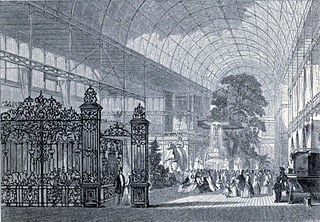 """The Crystal Palace"" Great Exhibition of the Industry of All Nations, 1851: Illustrated Catalogue (London: Bradbury and Evans, 1851, p. xvii) Engraving 1851"
