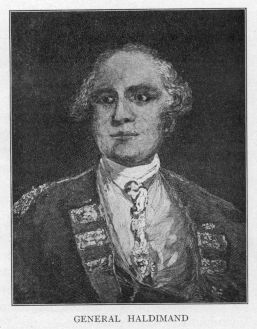 Sir Frederick Haldimand (1718-1791)