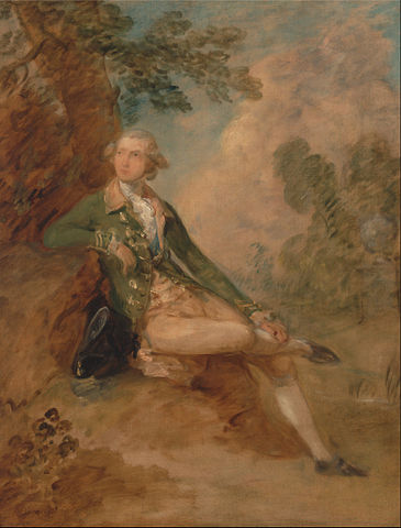Edward Augustus, Duke of Kent, circa 1787, by Thomas Gainsborough Yale Center for British Art , YCBA/lido-TMS-800,