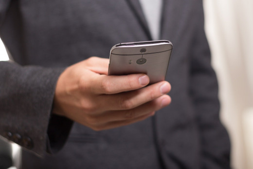 Leave your phone in your car. Never take your smartphone or other devices into an interview.