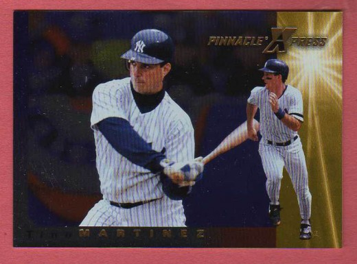 This Men of Summer Parallel Card uses gold foil to differentiate it from the base card in the set.