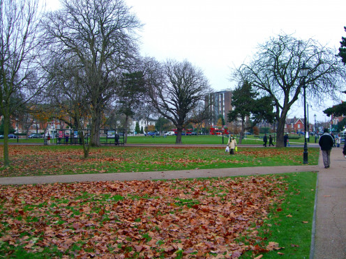 Haven Green just by Ealing Broadway station