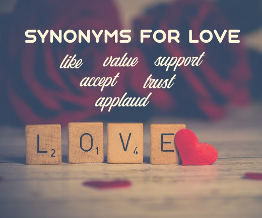 Synonyms for Love
