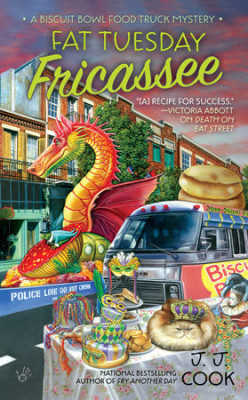 Book Review: Fat Tuesday Fricassee by J.J. Cook
