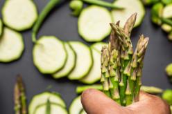 Vegan Gluten-Free Zucchini and Asparagus Pasta