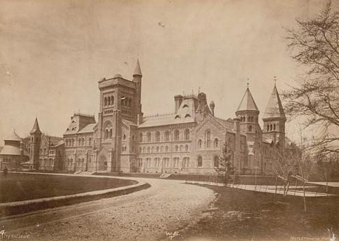 University College at the University of Toronto, Toronto, Canada, 1885