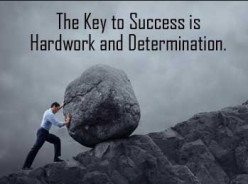 Hardworking and Success