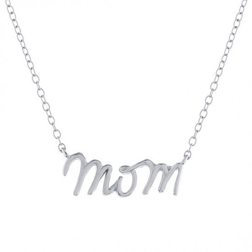 Beautiful Mom neckalce and the perfect gift for Mother's Day!
