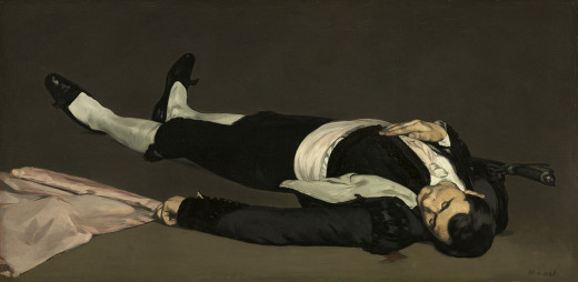 Dead Toreador by Manet