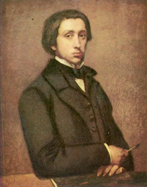 Edgar Degas, Self Portrait