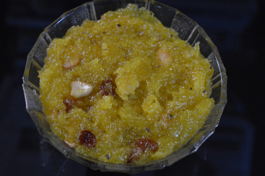 White Pumpkin Halwa