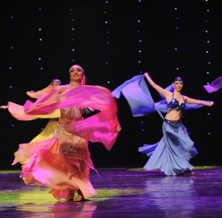 How to Make a Belly Dance Veil