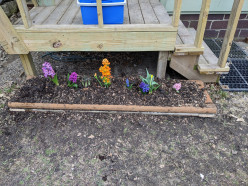 Adding a Simple Flower Box to a Deck