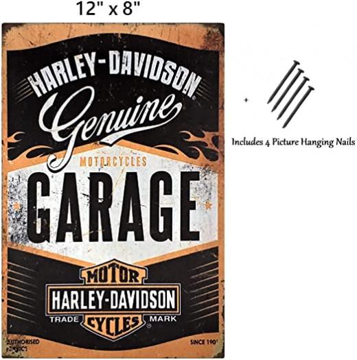 Harley Garage Tin Sign
