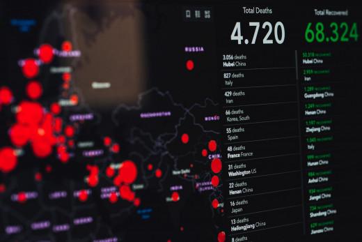 Tracking the Virus Worldwide