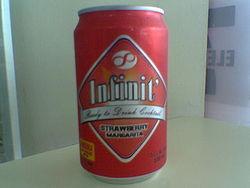 canned margarita (Ughhh!)