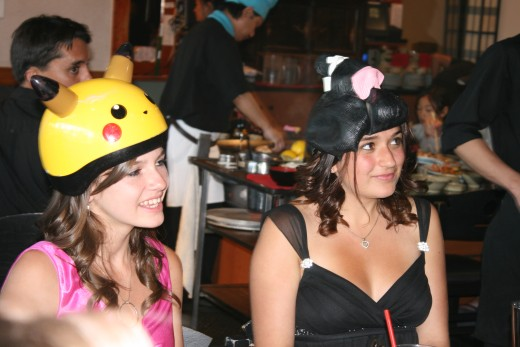 Silly hats aren't embarassing...oh...ok....
