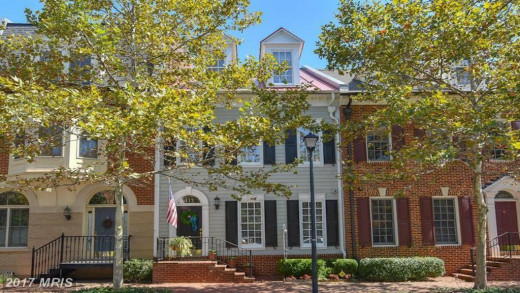 The $835k-worth house in Alexandria, Virginia Flynn had to sell in 2018 to cover his exorbitant legal fees