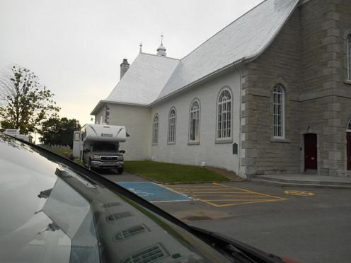 Rue de l'Église, Saint-Joachim, Québec