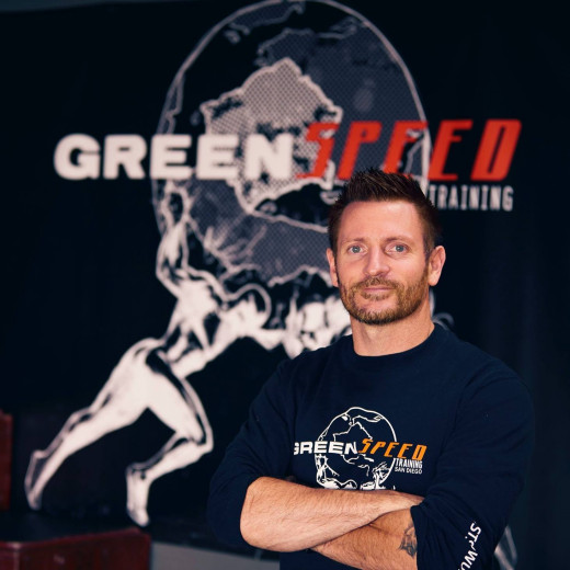 Tom Green, owner and founder of GreenSpeed Training. The facility has trained four local San Diego-area elite high school athletes who are off to top universities across the nation.