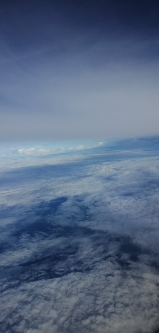 Skies of the Pacific Ocean