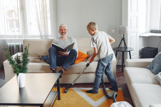 Let your kids do chores