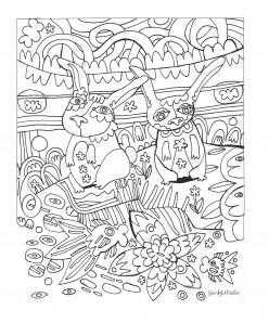 Coloring Sheets for Quarantine Boredom