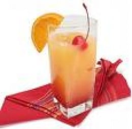 Tequila sunrise.  Makes damp old Britain seem a long way away!  credit recipetips.co