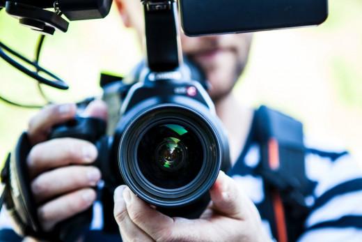 Man With a Digital Camera