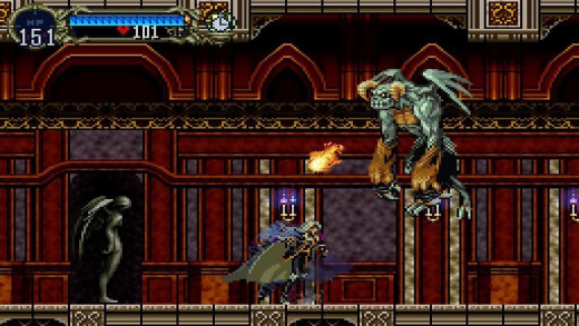 Castlevania: Symphony of the Night gameplay