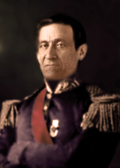 José María Melo, whose 1854 coup d'etat would unleash the civil war of the same year.